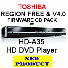 REGION FREE & V4.0 FIRMWARE FOR TOSHIBA HD-A35 HD DVD PLAYER