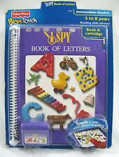 NEW PowerTouch Learning System + Cartridge I SPY Book of Letters Fisher Price