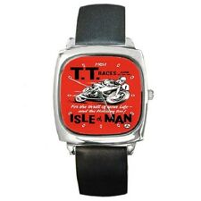 ISLE OF MAN TT RACES 1961 REPRO POSTER CLASSIC WRISTWATCH *SUPERB ITEM*