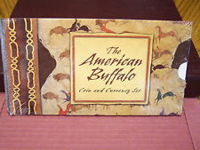 2001 American Buffalo Coin & Currency Set with stamps