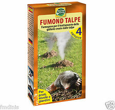 1 Pack of 4 Units Professional Blind mole Mole Smoke  Repellent (Up to 50m²)