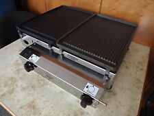 CAST IRON - CATERING  VAN -  LPG Gas  Griddle- Hot Plate- Barbecue 51x40 cm