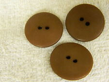 25 NEW 1 INCH DULL FINISH  ANTQ .GOLD BUTTONS