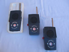 Vintage Lot (3) Archer Space Patrol Walkie Talkies CB Radio Shack  Made in Japan