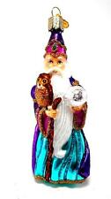Wizard with Owl Merck's  Old World Christmas Ornament owc 24132