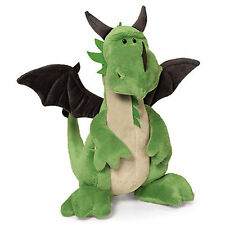 NICI Green Dragon Standing Rag Stuffed Animals Kids Baby Boy Doll Gift 30cm