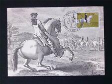 SCHWEIZ MK DRESSURREITEN PFERD HORSE CHEVAL MAXIMUMKARTE MAXIMUM CARD MC c5941