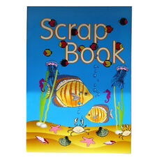 Large Scrapbook - Under The Sea - 350mm x 250mm - 12 Lilac and 12 Pink Pages -
