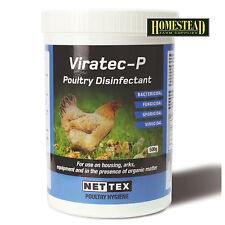 NET TEX VIRATEC-P DISINFECTANT - 500g TUB CHICKEN POULTRY