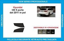pellicole oscuranti vetri hyundai I40 5p dal 2011  kit anteriore