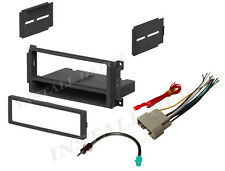 COMPLETE CAR STEREO RADIO INSTALLATION TRIM KIT CD PLAYER + WIRING HARNESS
