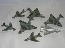 dinky SQUADRON LOT OF 7 AIRCRAFT