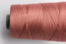 YARN for Bobbin LACE - 100 Grams Cone - 100% Silk - Hand Dyed Solid Color - M15