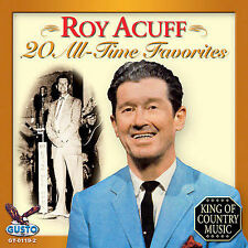 FREE US SH (int'l sh=$0-$3) NEW CD Roy Acuff: 20 All Time Favorites