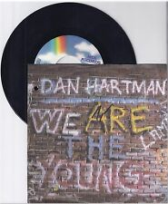 "Dan Hartman, We are the young, G/VG  7"" Single 999-298"