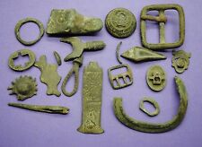 Interesting mixed lot of metal detector finds