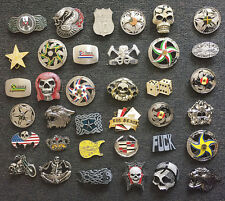 New Lot of 60 Fashion Belt Buckles - Assorted Styles
