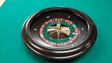 18 Inch Black ABS Roulette Wheel (Made in the USA)