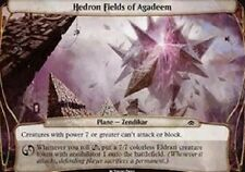 Hedron Fields of Agadeem (PLANE CARD) NM Planechase Anthology MTG (PLANE CARD)