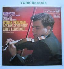 SB-6722 - PROKOFIEV / SIBELIUS - Violin Concertos ITZHAK PERLMAN - Ex LP Record