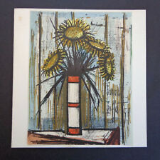 Bernard Buffet 1959 original color lithograph, signed/dated in plate INV2444