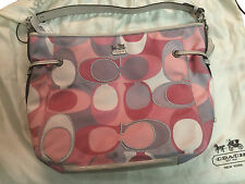 Coach Chelsea Scarf Katarina Shoulder Slouch Tote Hand Bag - GREAT COLORS!