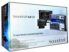 SoundCraft Ui12 12-Channel Remote-Controlled Digital mixer with Wi-Fi NEW Ui12