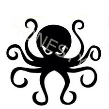 Octopus Wall sticker vinyl street art graffiti bedroom kitchen glass truck Decal