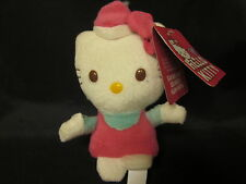 "HELLO KITTY Sanrio Pink Soft Fleece Plush '09 Body Spray Issue 5"" Free US Ship"