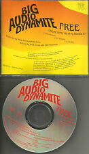 The clash BIG AUDIO DYNAMITE Free FILM Version & CLUB MIX PROMO DJ CD single