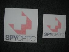 Spyoptic Spy Optic Lens Bicycle Bike Decals Stickers Original Free Shipping!!!
