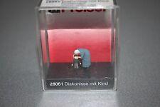 Preiser 28061 Figur Diakonisse mit Kind Spur H0 OVP