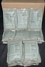 Case Lot of 25 Southwest Style Beef, Black Beans MRE Entrees, Meals Ready to Eat