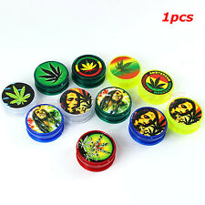 BOB MARLEY & LEAF RASTA Herb Herbal Tobacco Grinder Smoke Crusher hand Muller