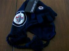 WINNIPEG JETS BOYS LICENSED TOQUE/GLOVES NEW W/ TAGS   2PC SET