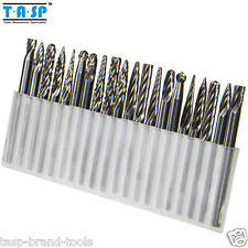 20PC Tungsten Carbide Rotary Burrs Drill Bit Set for Dremel Milling Cutter Drill