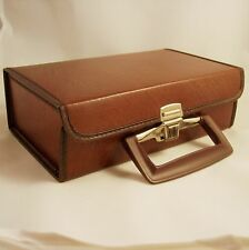 RETRO VINYL CARRYING CASE MODEL #7 FOR 12 CASSETTES - GREAT FOR ARCHIVING
