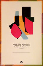 MOUNT KIMBIE Cold Spring Fault Less Youth 2013 Ltd Ed RARE New Poster Dance Rock
