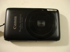 Very Nice Canon PowerShot SD1400 IXUS 130 14MP Digital Camera Black