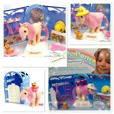 ⭐️ My Little Pony ⭐️ G1 Grooming Parlour Playset w/Box & Accessories! Amazing!