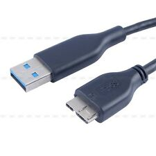 The New!USB 3.0 Male A to Micro B Cable Fr External Hard Drive Disk HDD 40cm