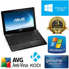 Asus Eee PC 160gb Cámara web wifi Windows Netbook Kodi ITUNES Laptop Office