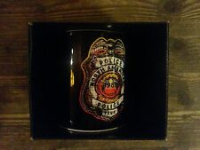 Police- Shield- Black mok/tas/mug/tasse - New boxed