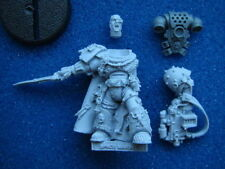 40K SPACE MARINE CAPTAIN COMMANDER CHAPTER MASTER IN POWER ARMOUR **NEW** (P4)