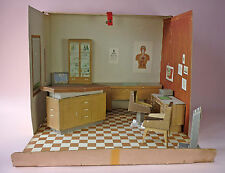 DR. LITTLECHAP'S MEDICAL OFFICE PLAYSET - COMPLETE - REMCO - 1963