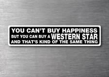 Buy a Western Star sticker 7 year water & fade proof vinyl sticker