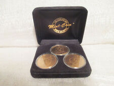 Chipper Jones Alex Rodriguez Derek Jeter Highland Mint Bronze 3 Coin Set 0265