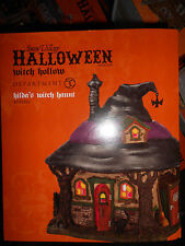 DEPT 56 HALLOWEEN VILLAGE HILDA'S WITCH HAUNT NIB *Still Sealed*
