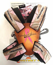 Crooked Horn's Slide and Flex Bino-System Binocular Strap Holster Harness  Pink