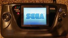 Sega Game Gear 100% REFURBISHED WORKING FREE GAME, NEW CAPACITORS, GLASS SCREEN